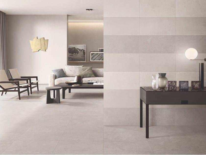 Pavimento/rivestimento in gres porcellanato effetto cemento CITTÀ by Casalgrande Padana