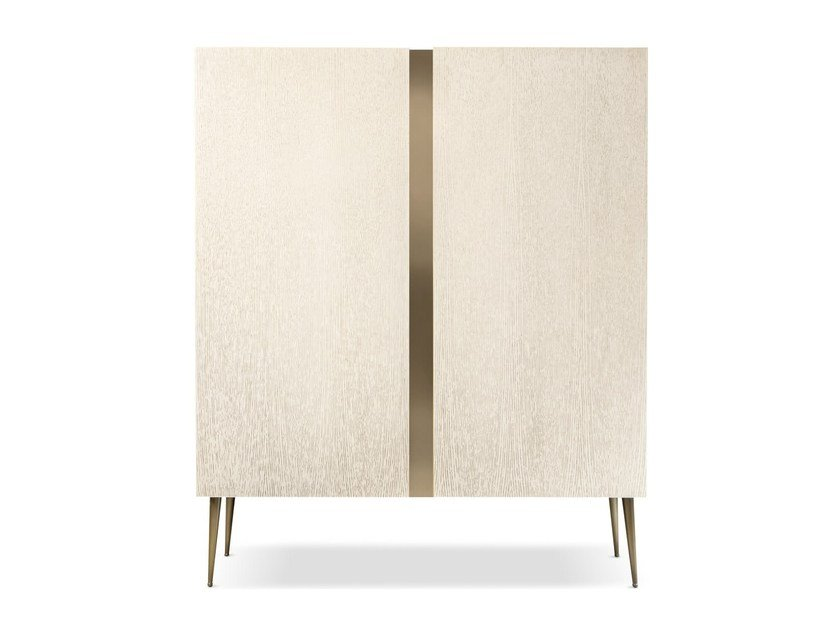 Wooden highboard CITY CABINET by Cantori