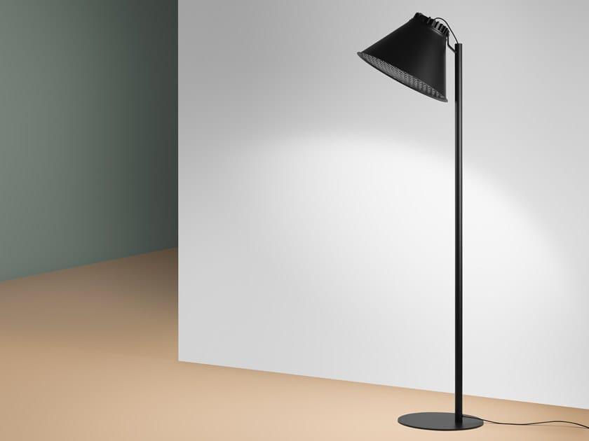 Lámpara de pie LED de aluminio CITY | Lámpara de pie by ZERO