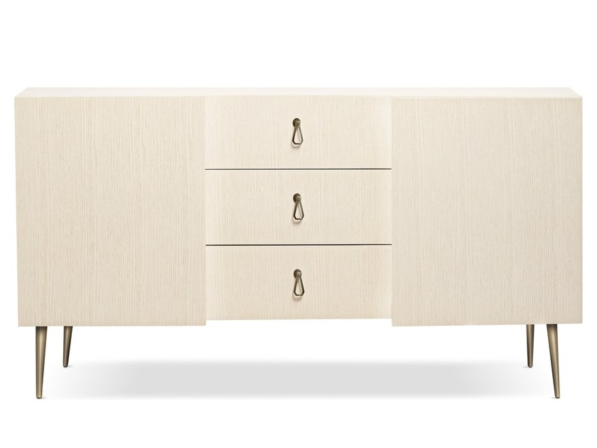 Wooden sideboard CITY   Sideboard by Cantori