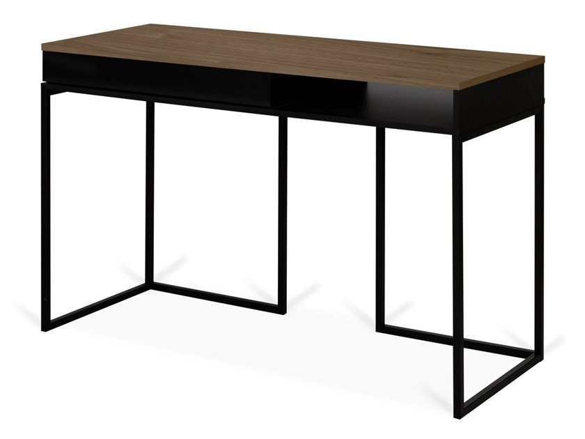 Rectangular writing desk with drawers CITY by TemaHome