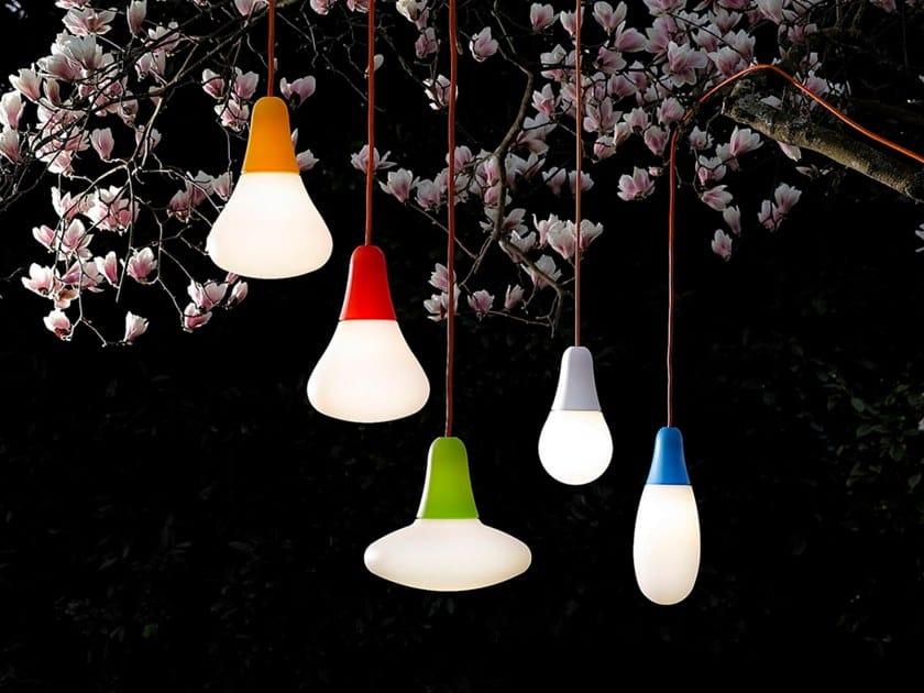 Polyethylene outdoor pendant lamp CIULIFRULI | Outdoor pendant lamp by Martinelli Luce