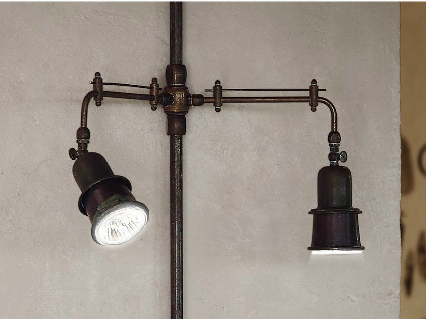 Wall-mounted multiple adjustable spotlight CIVETTA | Multiple spotlight by Aldo Bernardi