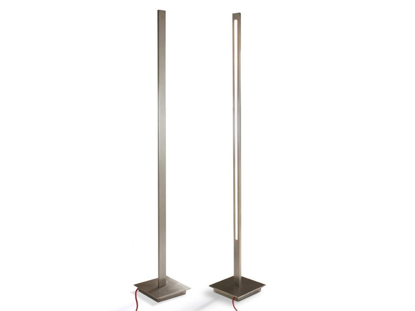 LED stainless steel Floor lamp CL1 | Floor lamp by FueraDentro