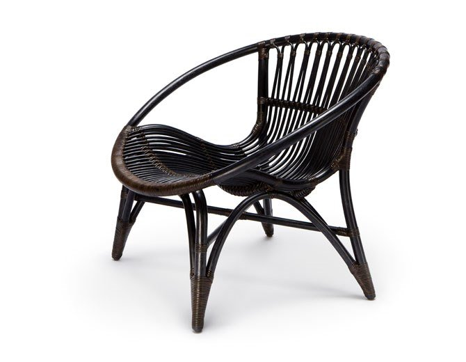 Rattan armchair with armrests CL320 by Feelgood Designs