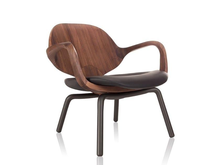 CLAD Petit Fauteuil By Sollos Design Jader Almeida - Petit fauteuil en bois