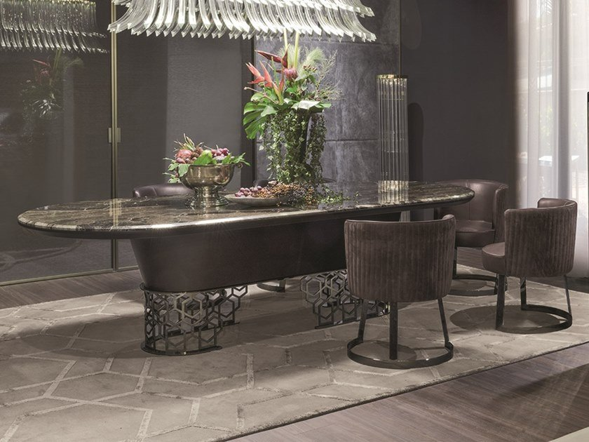 MANFRED   Console Table Loveluxe   Nobles Collection By Longhi Design  Giuseppe Iasparra