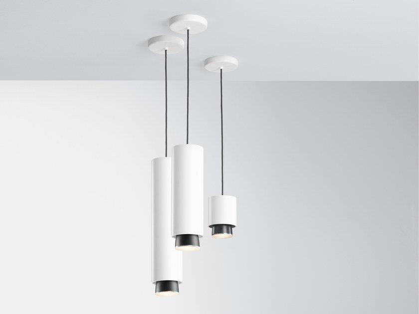 LED pendant lamp CLAQUE F43   Pendant lamp by Fabbian