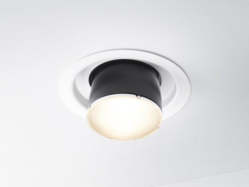 LED recessed spotlight CLAQUE F43 | Recessed spotlight by Fabbian