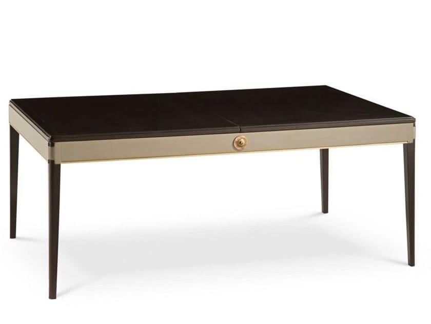 Extending rectangular cherry wood table CLARIDGE | Table by ROCHE BOBOIS