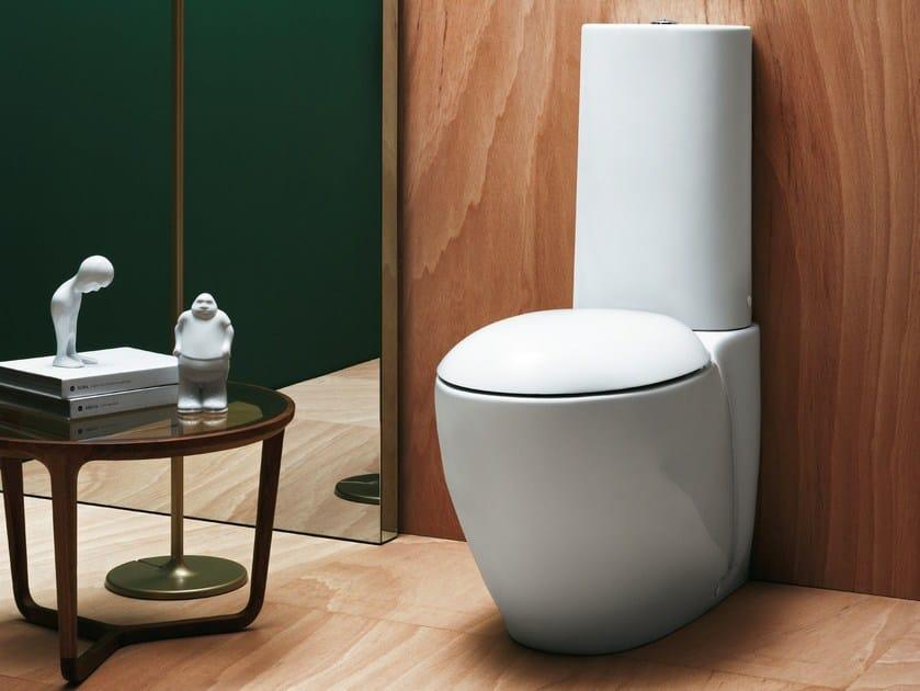 Close coupled ceramic toilet CLAS+   Close coupled toilet by AZZURRA sanitari