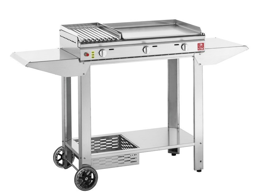 Gas stainless steel barbecue CLAS by PLA.NET BBQ