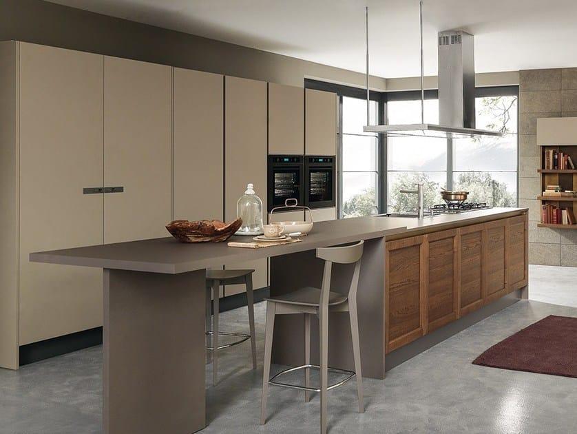 CLASS LINE | Küche mit Kücheninsel By Febal Casa Design Alfredo Zengiaro