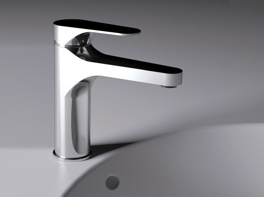 Countertop single handle washbasin mixer without waste CLASS LINE | Washbasin mixer by Remer Rubinetterie