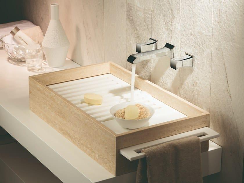 3 hole washbasin tap without waste CLASS-X | 3 hole washbasin tap by newform