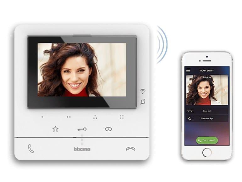 Videocitofono connesso CLASSE 100X by BTICINO
