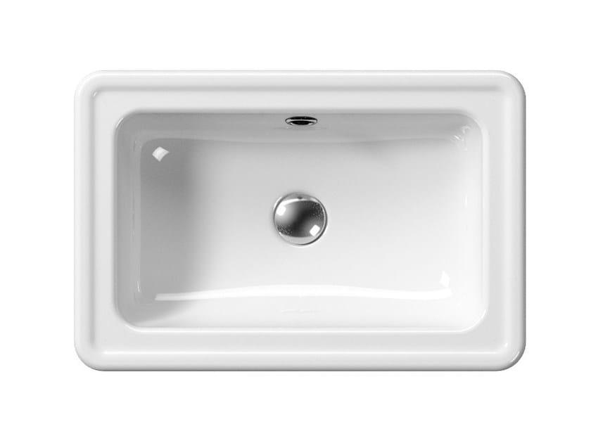 Undermount washbasin CLASSIC 60/T | Washbasin by GSI ceramica