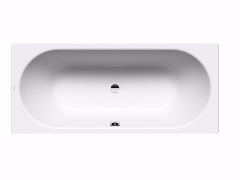 Rectangular enamelled steel bathtub CLASSIC DUO by Kaldewei Italia