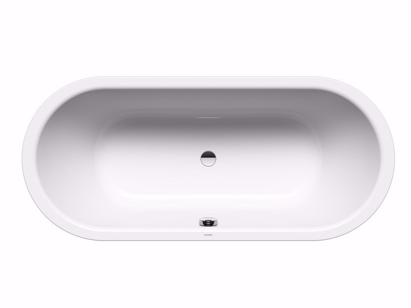 Built-in oval steel bathtub CLASSIC DUO OVAL by Kaldewei Italia