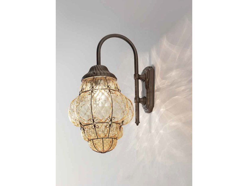 Murano glass wall lamp CLASSIC EB 101 by Siru