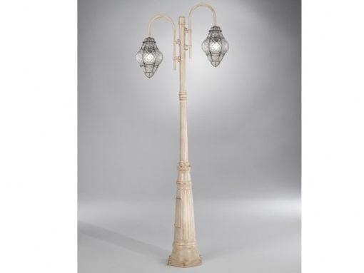 Murano glass garden lamp post CLASSIC EP 398 by Siru