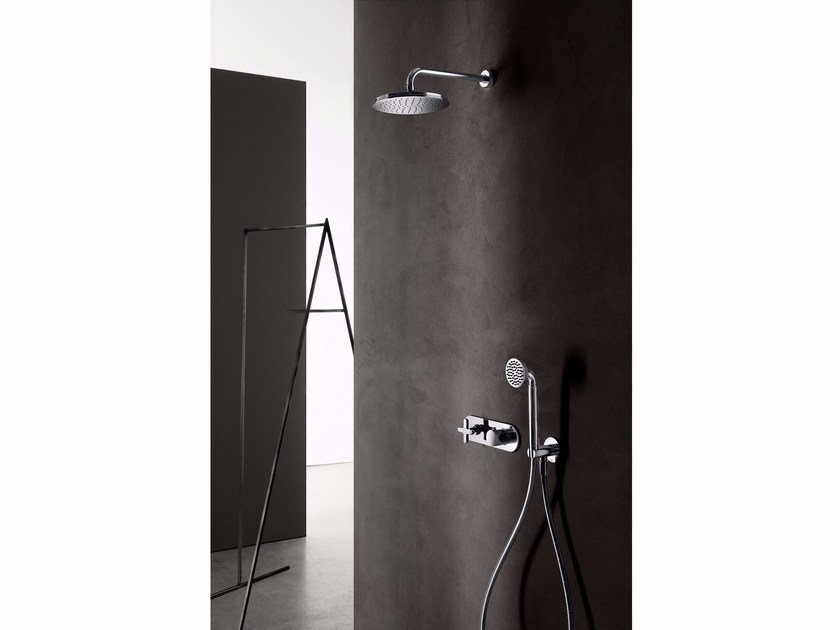 Shower tap with overhead shower CLASSIC ICONA   Shower tap by Fantini Rubinetti