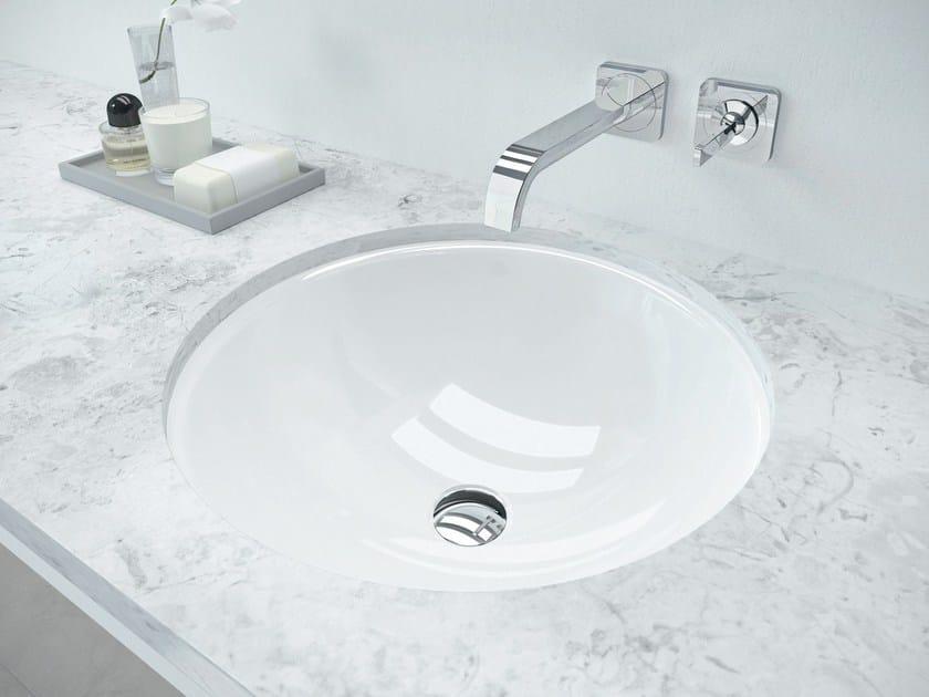 Undermount round washbasin CLASSIC by Kaldewei Italia