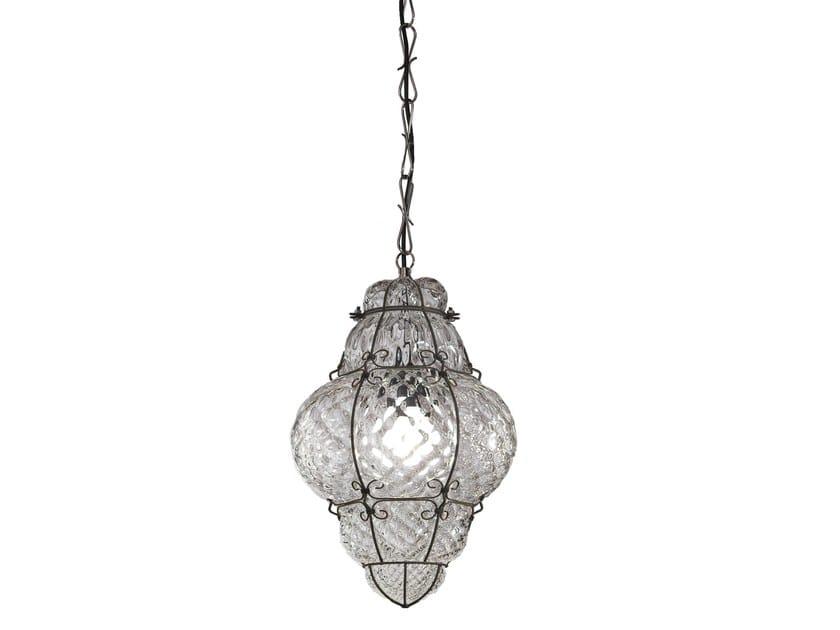 Murano glass pendant lamp CLASSIC MS 101 by Siru