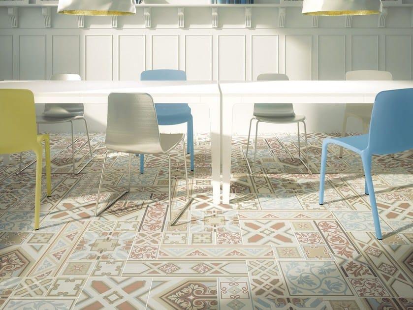 Pavimento in gres porcellanato smaltato CLASSIC | Pavimento by ORNAMENTA