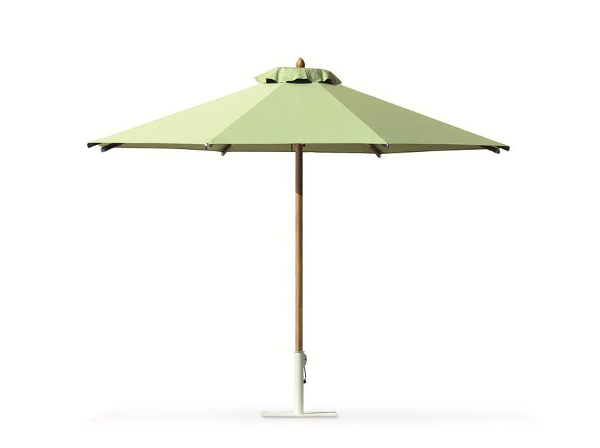 Round acrylic Garden umbrella CLASSIC   Round Garden umbrella by Ethimo
