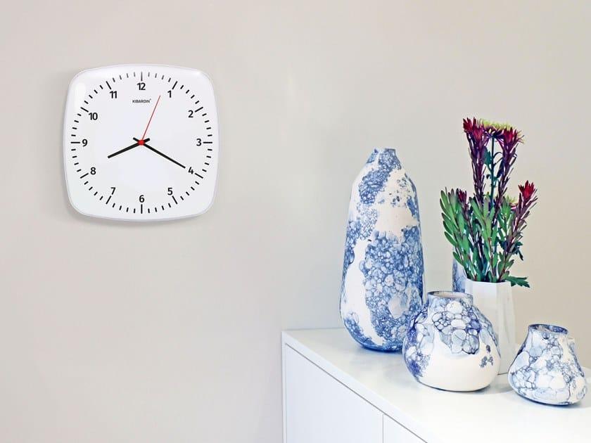 Orologio in vetro acrilico da parete CLASSIC SOLO by KIBARDIN