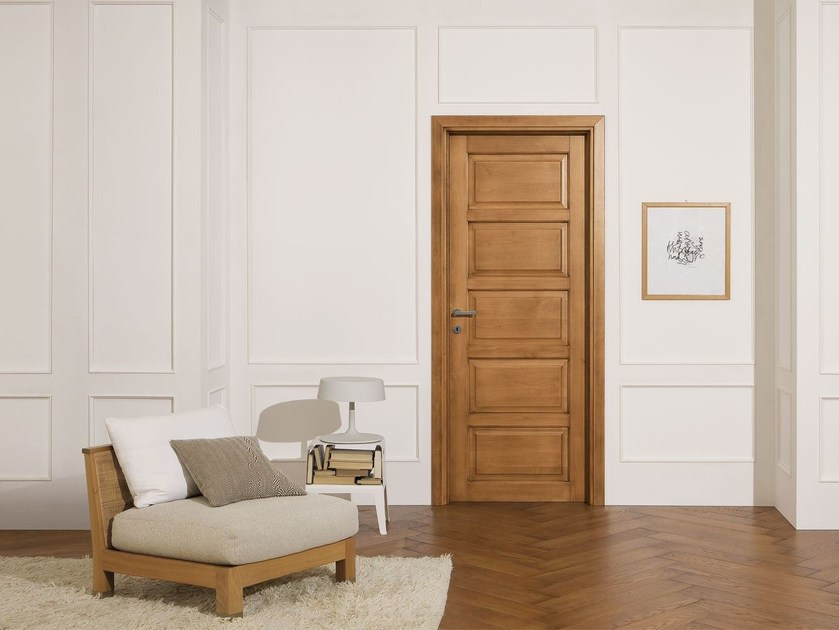 Solid wood door CLASSICI E ANTICATI by LEGNOFORM