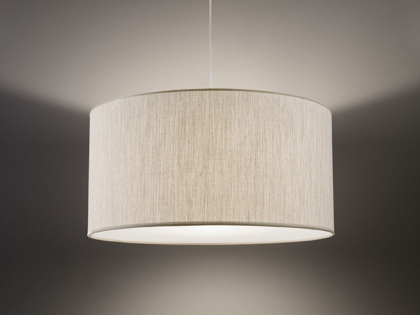 LED fabric pendant lamp CLASSICO by Olev