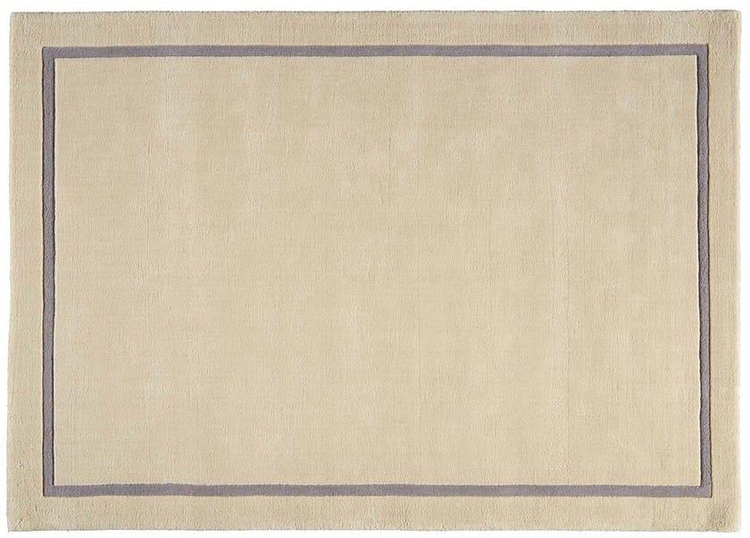 Rectangular wool rug CLASSICO by Toulemonde Bochart
