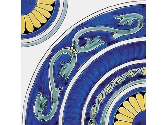 Ceramic wall tiles / flooring CLASSICO VIETRI ANNACHIARA BLU by FRANCESCO DE MAIO
