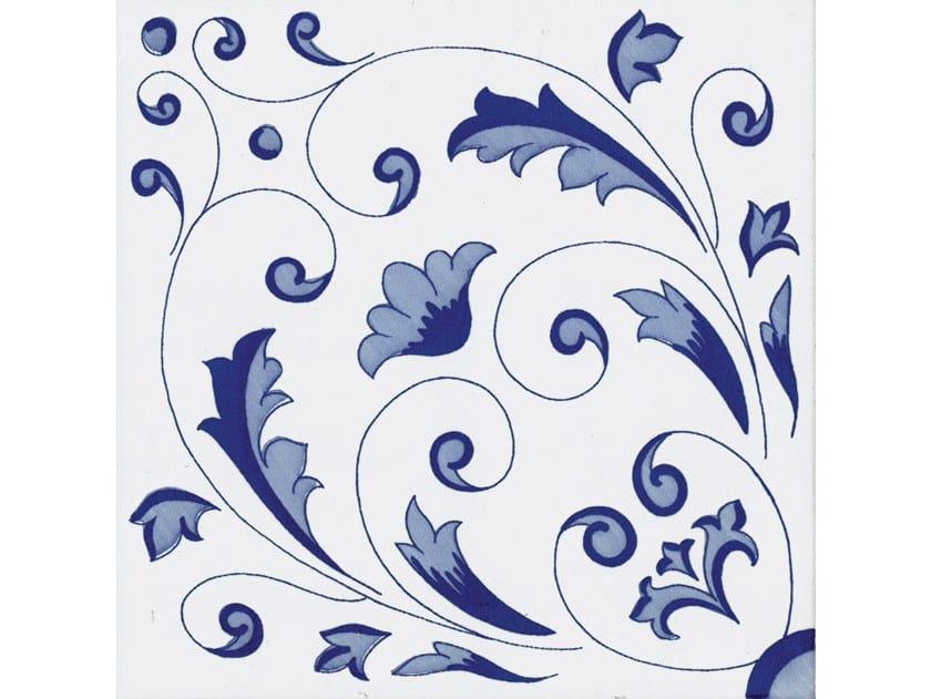 Ceramic wall tiles / flooring CLASSICO VIETRI CRESTARELLA AZZURRO by FRANCESCO DE MAIO
