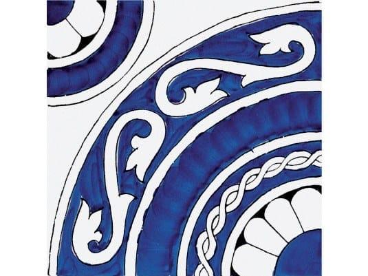 Ceramic wall tiles / flooring CLASSICO VIETRI GRECA BLU by FRANCESCO DE MAIO