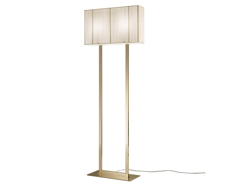 Handmade silk floor lamp CLAVIUS | Floor lamp by AXOLIGHT