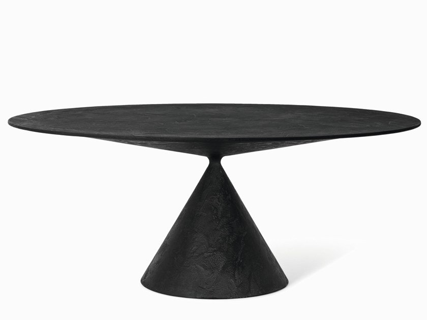Round stone table CLAY | Table by Desalto
