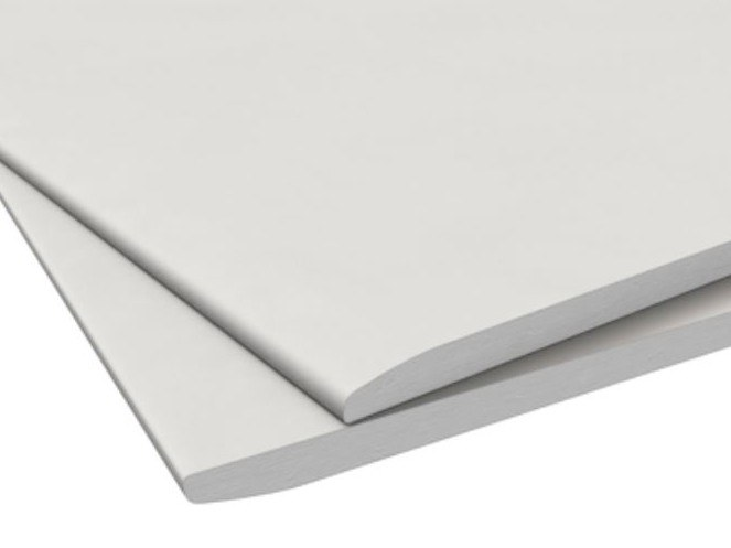 Gypsum plasterboard CLEANEO THERMOBOARD by Knauf Italia
