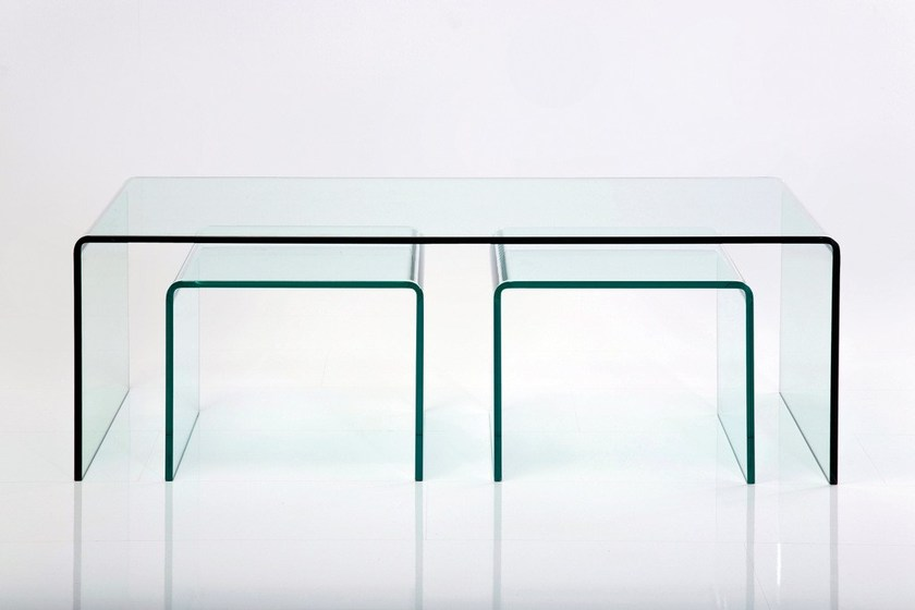 design In Vetro Kare ClubTavolino Clear Rettangolare zVSUMpq