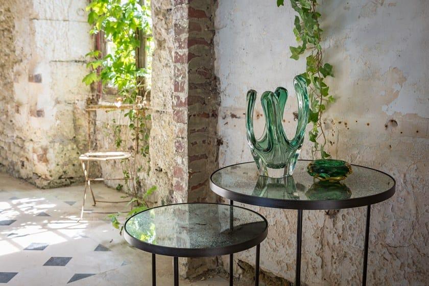 Set Notre Tavolino Rotondo Nesting Monde In Clear Table A Specchio Di Vetro Side Servizio wPZkuTOXi