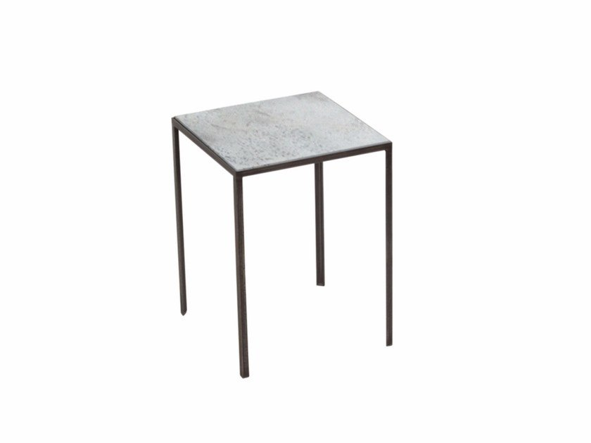 Square side table CLEAR PATCHWORK SIDE TABLE by Notre Monde