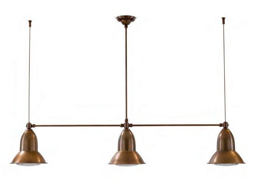 Metal pendant lamp CLEMATIDE by Aldo Bernardi
