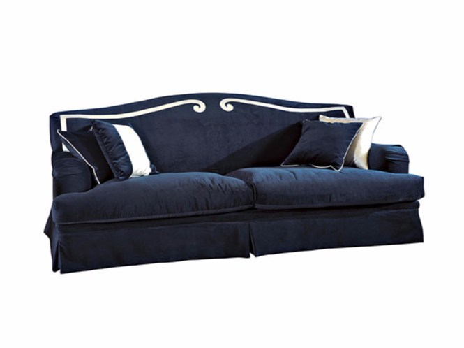 Upholstered fabric sofa CLEMENTINA by SOFTHOUSE