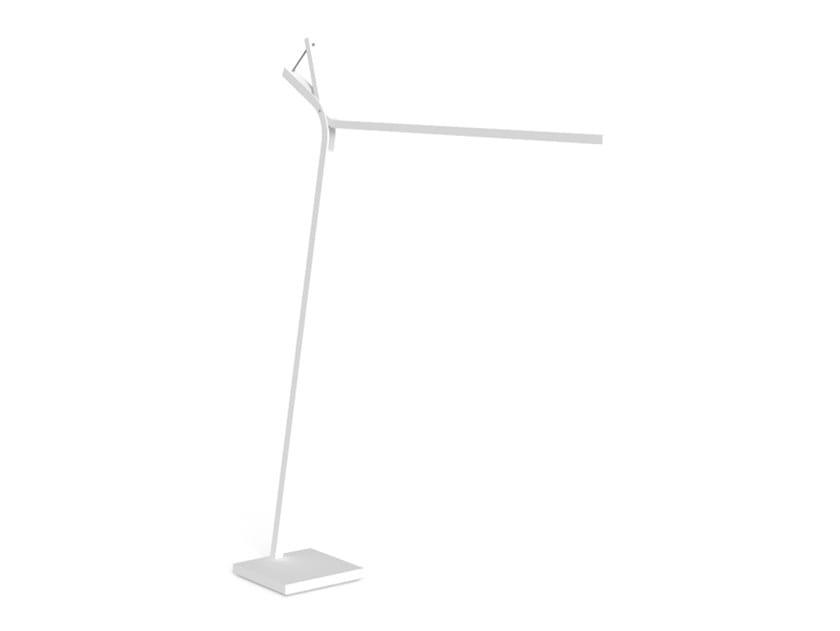 Lampada da terra per esterno a LED in alluminio CLEO ALU | Lampada da terra per esterno by Talenti