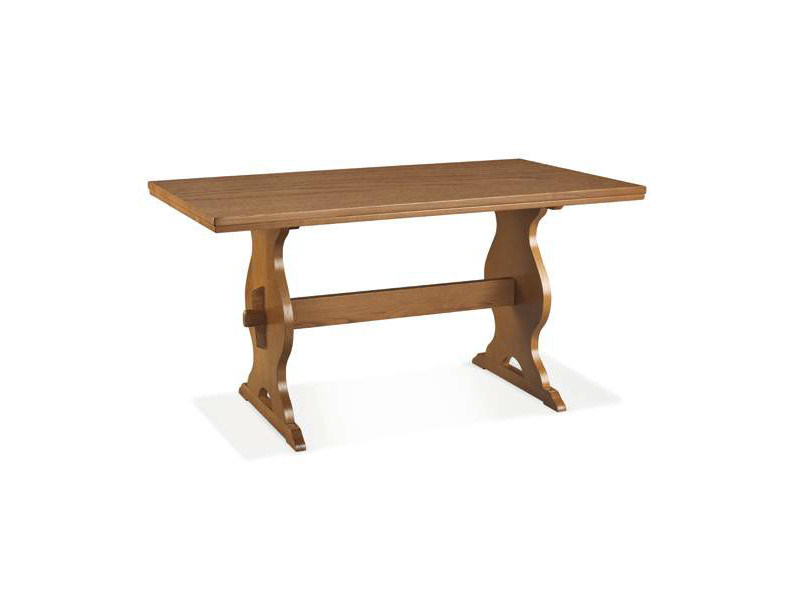 Rectangular wood veneer table CLEO by CREO Kitchens