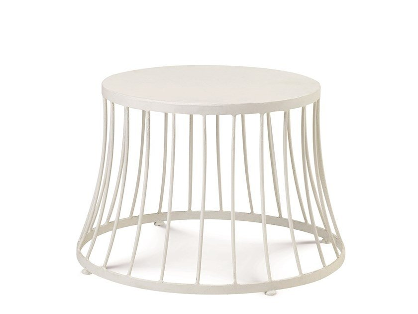 Low aluminium garden side table CLESSIDRA | Coffee table by Ethimo