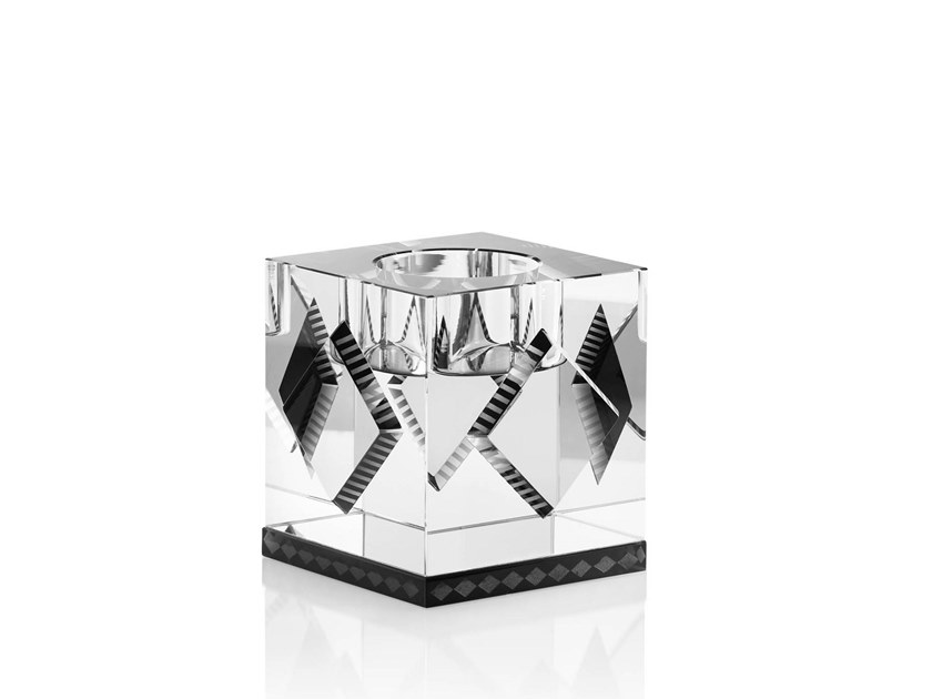 Crystal candle holder CLEVELAND by Reflections Copenhagen