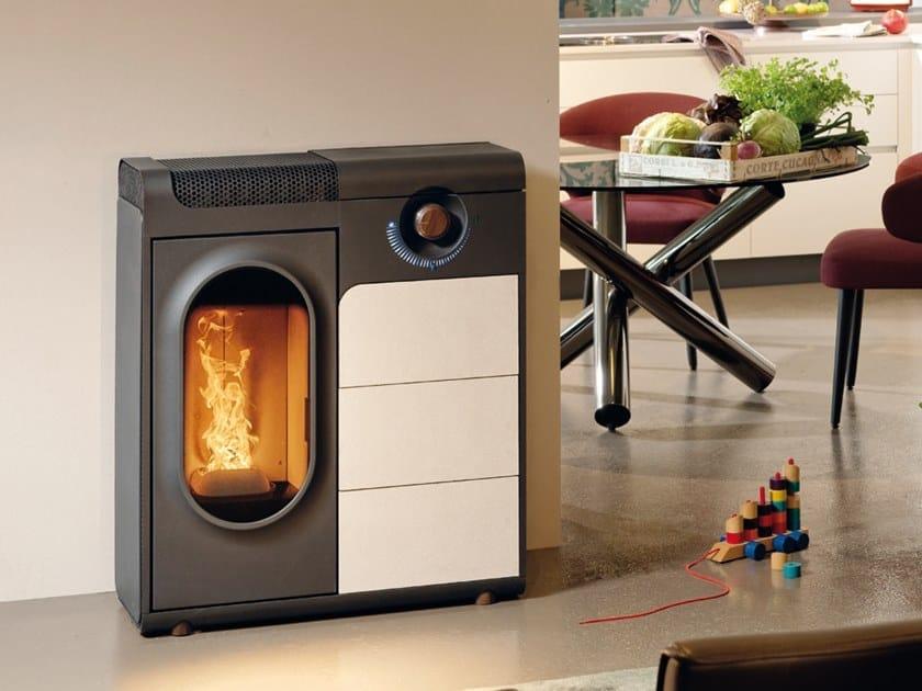Pellet stove CLIC by Austroflamm